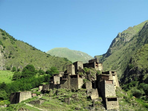 Gruzja, Kaukaz