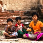 Dzieci z Birmy (Myanmar) na zdjęciach